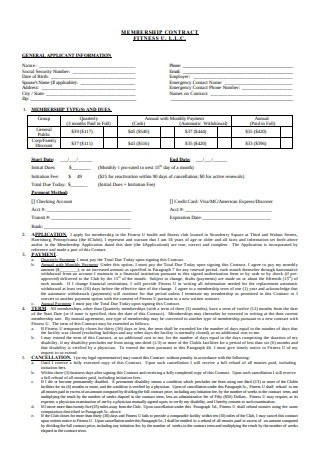 La Fitness Cancellation Form Pdf 2019 : fitness, cancellation, SAMPLE, Membership, Contracts