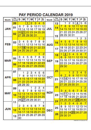 48+ SAMPLE Printable Calendars in PDF   MS Word   Excel