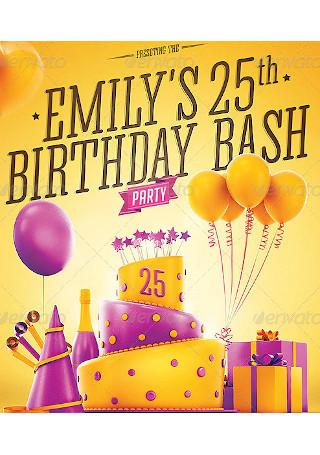 19 sample birthday party invitations