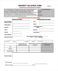 Sample Tax Assessment - Design Templates
