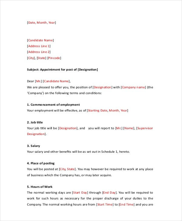 Sample Formal Letter  13 Free Documents in PDF Doc