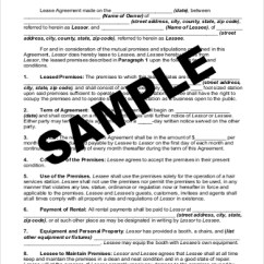Rent A Chair Burke Slipper Sample Contract Form 9 Free Documents In Pdf Doc Renting Hair Salon