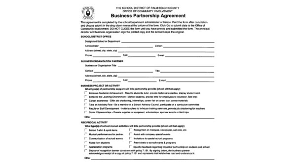 One successful approach for expanding sales used by manufacturers is to sign up channel partners. Free 9 Partnership Agreement Samples In Ms Word Pdf