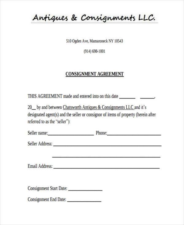 ... Consignment Agreement Consignment Agreement   Sample Template   Consignment  Template ...  Consignment Agreement Format