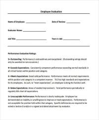 8+ Sales Evaluation Form Samples - Free Sample, Example ...