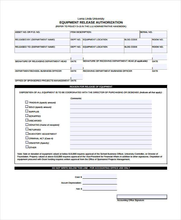 donation form sample
