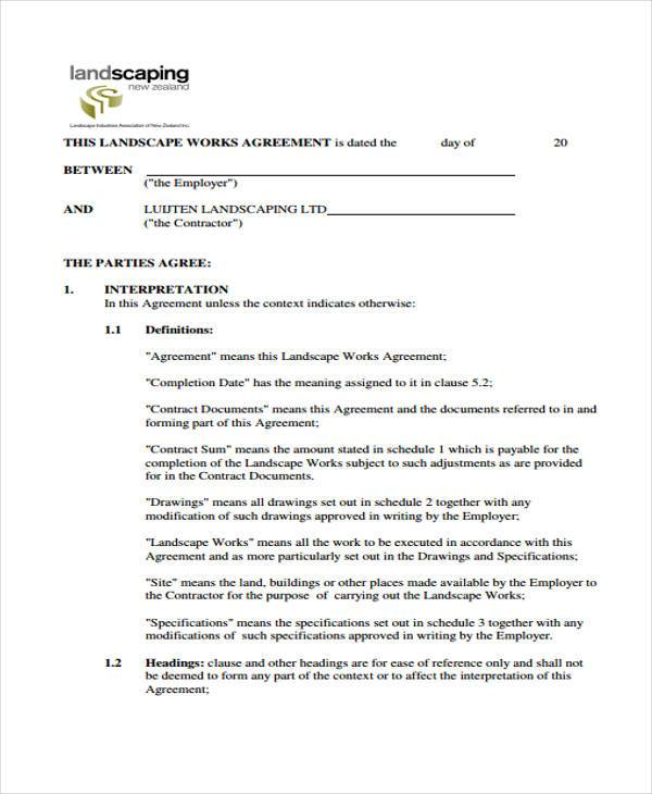 free 36 sample contract forms