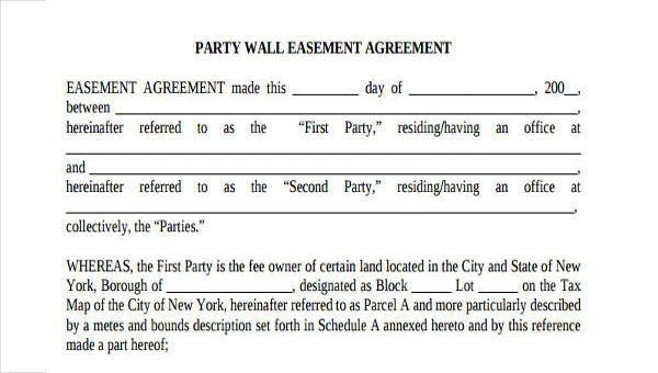 Party Wall Agreement Form Download Party Wall Act Overview Faculty