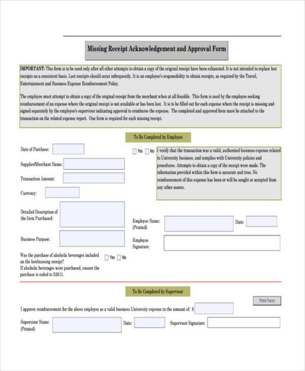 receipt form in pdfblank recipe card templates printable standard