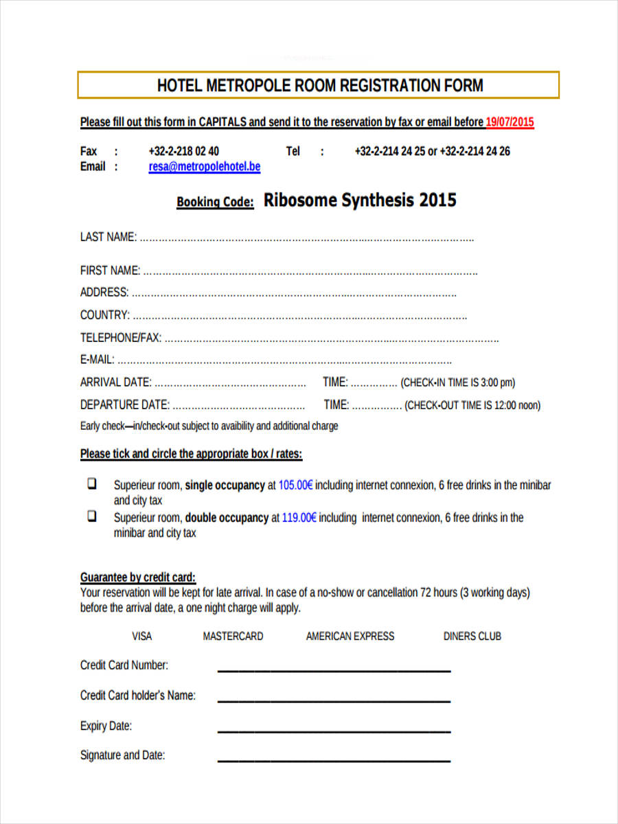 html registration form free download
