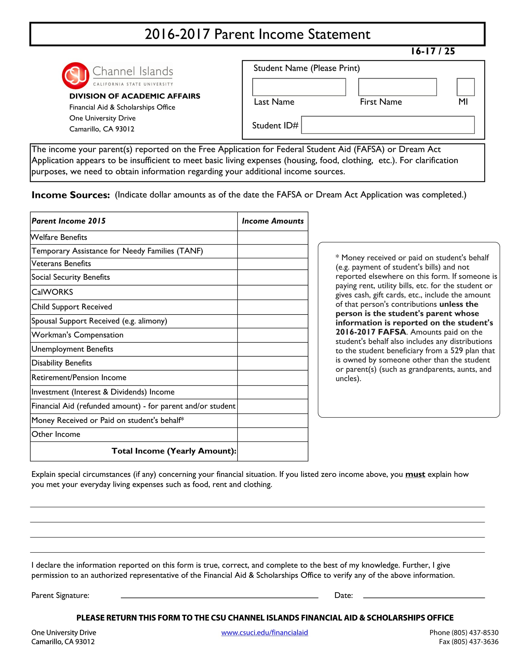 Free 30 Income Statement Forms In