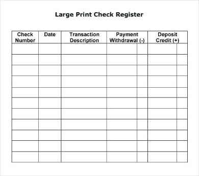 Wallethub also offers a guide on how to balance your checkbook and reconcile your bank statement if you need to brush up on your skills. Free 6 Printable Check Register Forms In Pdf