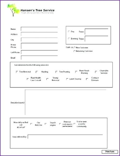For example, the use of a contractor estimate form, establishes content that talks about details related to the contractor's upcoming work as well as the estimated budget, materials, output and. Free 5 Lawn Service Business Estimate Forms In Pdf