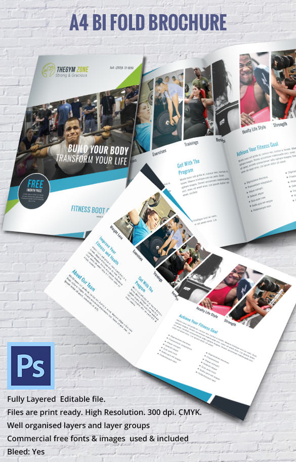 17 Best Gym Brochure Templates Download Documents In PSD