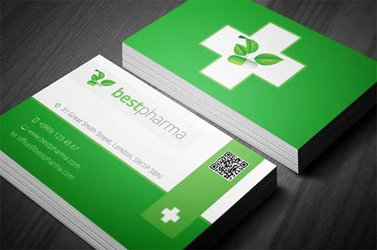 pharmacist business card templates