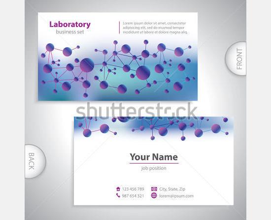 17 Medical Business Card Templates Sample Templates