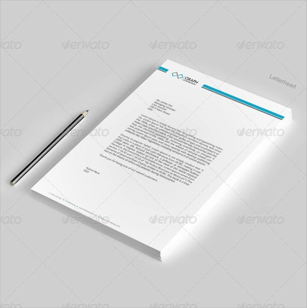 examples of letterhead with logo
