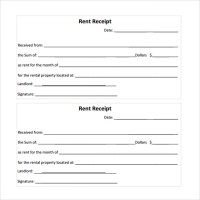 Rent Receipt Template - 13+ Download Free Documents in PDF ...