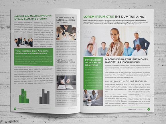 printed newsletter templates