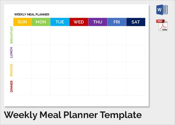 meal planner pdf