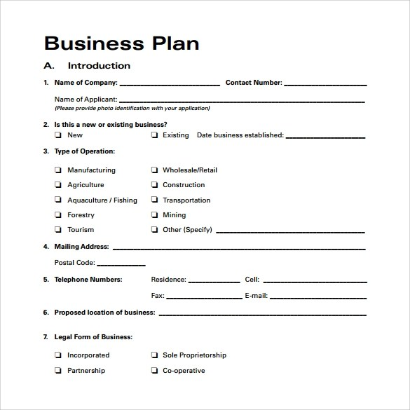 Business proposal templatebusines plan all form templates image result for what is a business plan template wajeb Choice Image