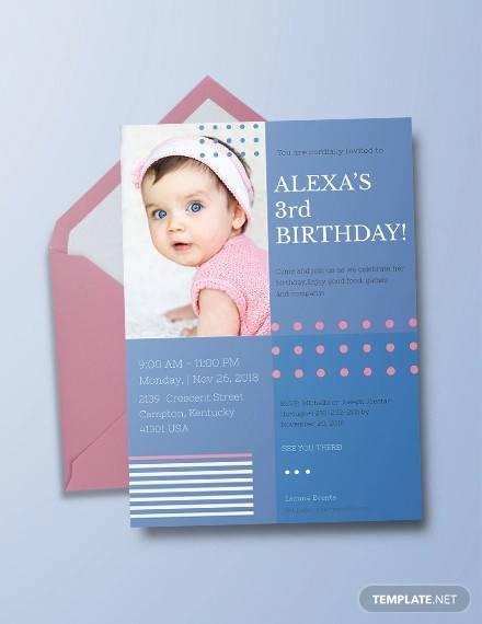 printable birthday invitation templates