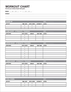 Workout schedule template also sample schedules templates rh sampletemplates