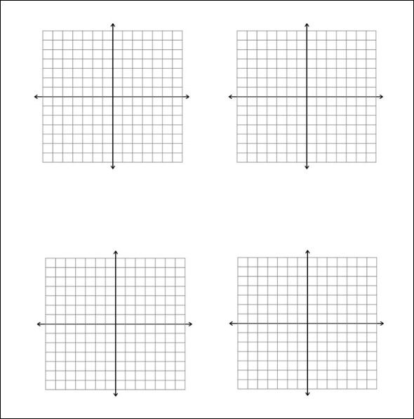 how many squares on a sheet of graph paper