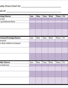 Chore chart for adults also sample templates rh sampletemplates