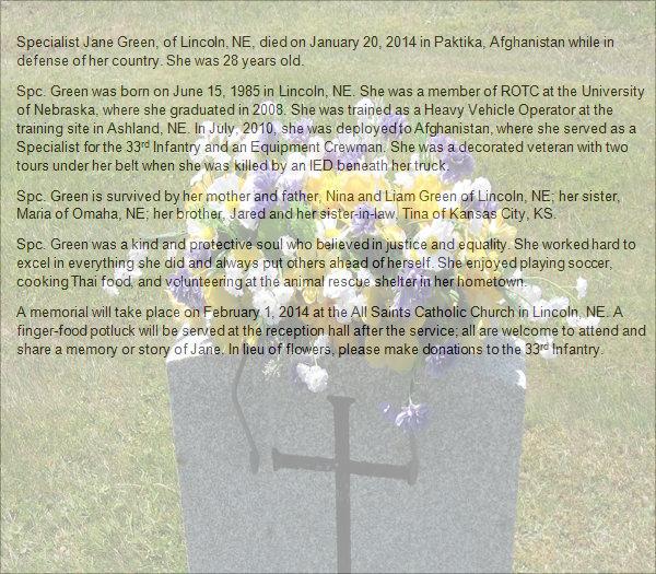 33 Sample Funeral Programs Templates Sample Templates