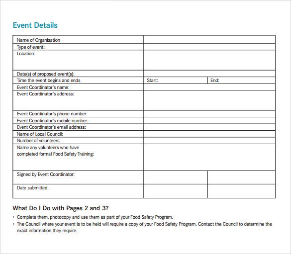 38 event program templates