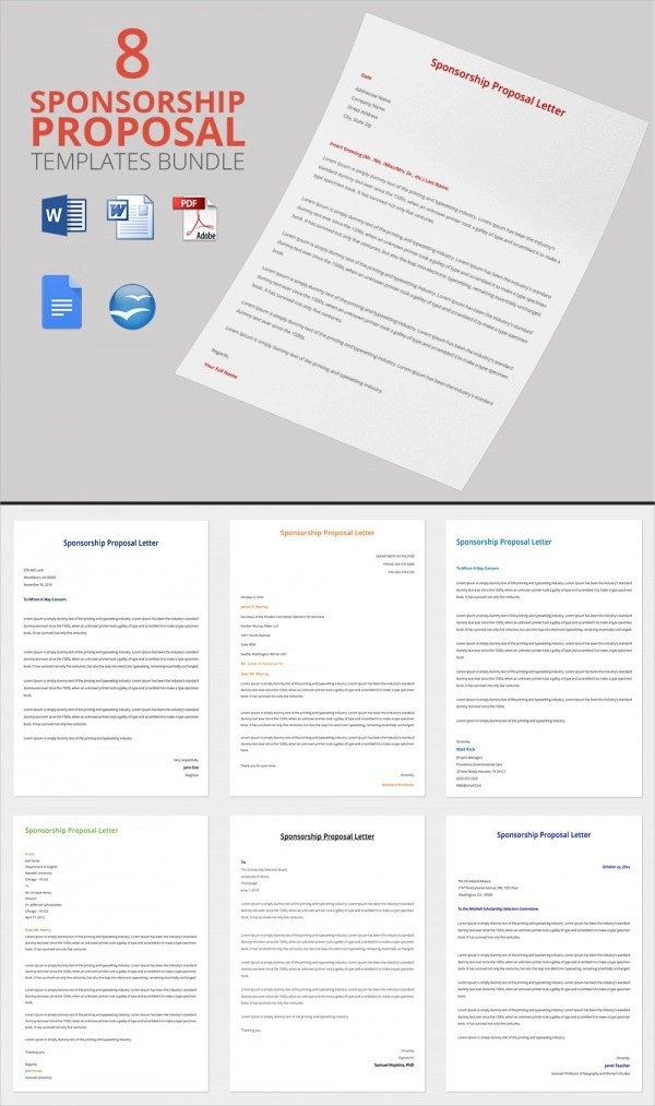 Sample Sponsorship Proposal Template  15 Documents in