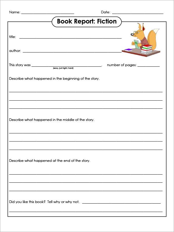 usmc book report format pdf
