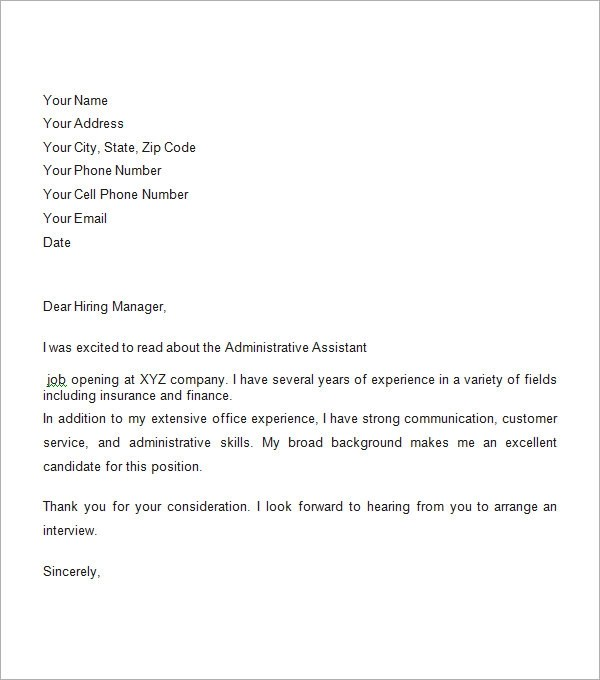 Job Application Covering Letter Examples Cover Letter Cv Writing