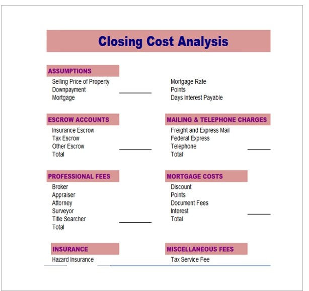 Cost Analysis Template 8 Download Free Documents In PDF Word Excel
