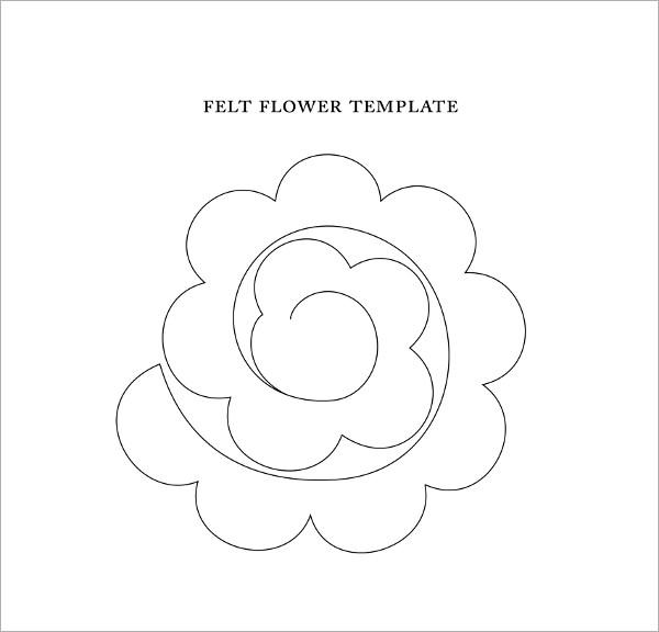 FREE 6+ Sample Flower Templates in PDF