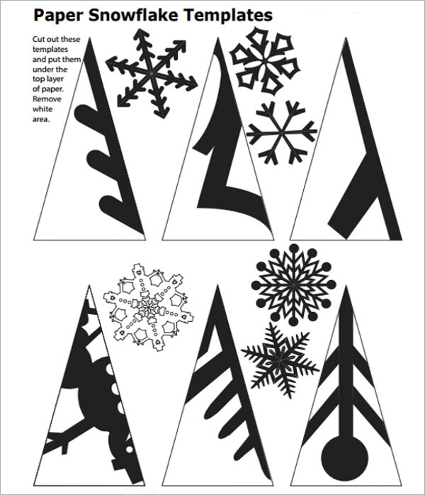 Pin Paper-snowflakes-patterns on Pinterest