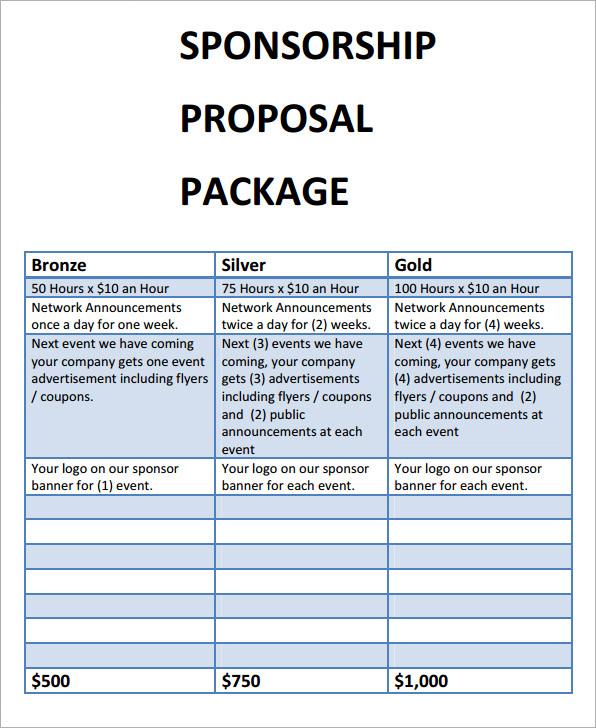 sample cover letter for sponsorship proposal. Black Bedroom Furniture Sets. Home Design Ideas