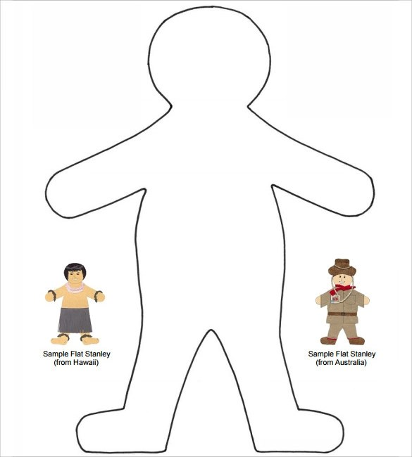 9+ Flat Stanley Templates