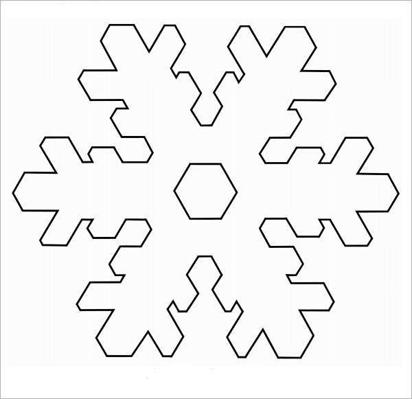 FREE 7+ Sample Awesome Snowflake Templates in PDF