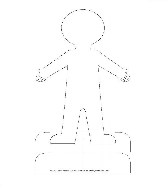 Good Free Printable Flat Stanley Template Photos >> Flat