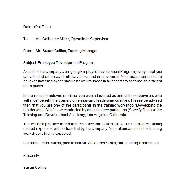 Self Employment Letter For Visa Application