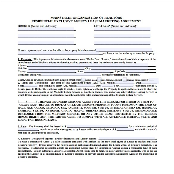 Marketing Agreement Template 30 Download Free Documents In PDF