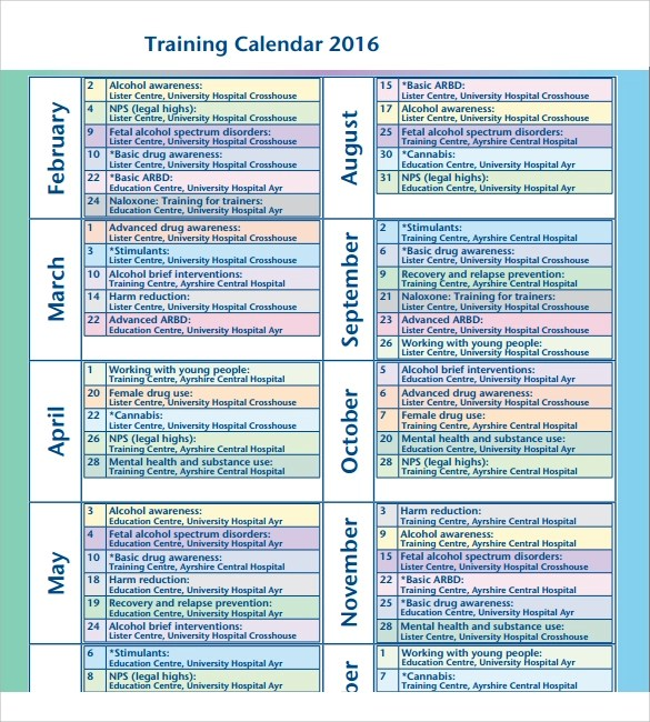 triathlon training calendar template - triathlon training plan