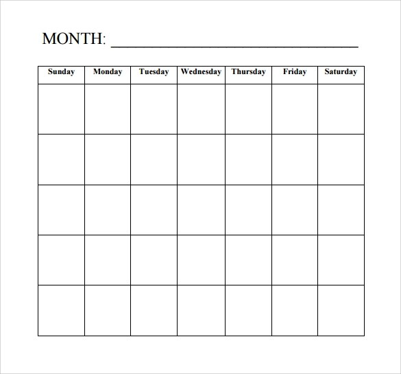 Choose from our blank calendar templates to design your own in minutes. FREE 15+ Sample Blank Calendar Templates in PDF