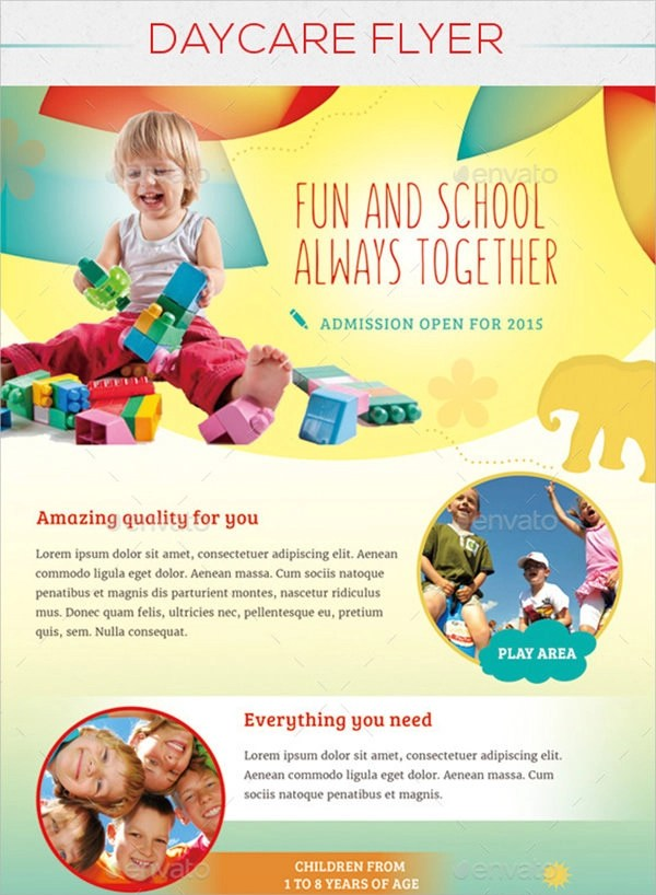 15 Day Care Flyers Sample Templates