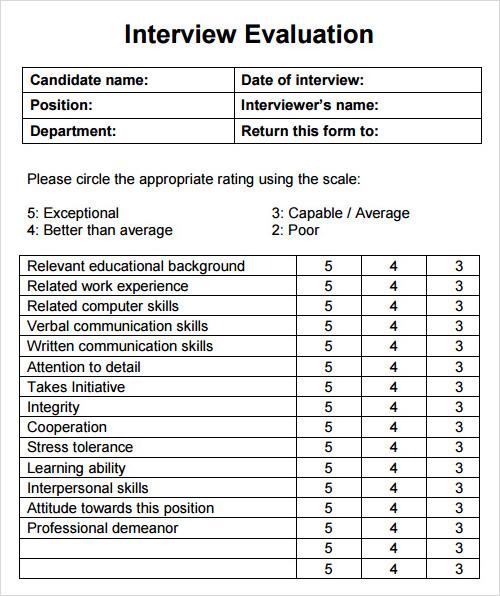 class evaluation form template - Tier.brianhenry.co