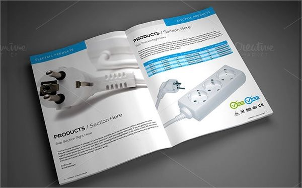 software product brochure template