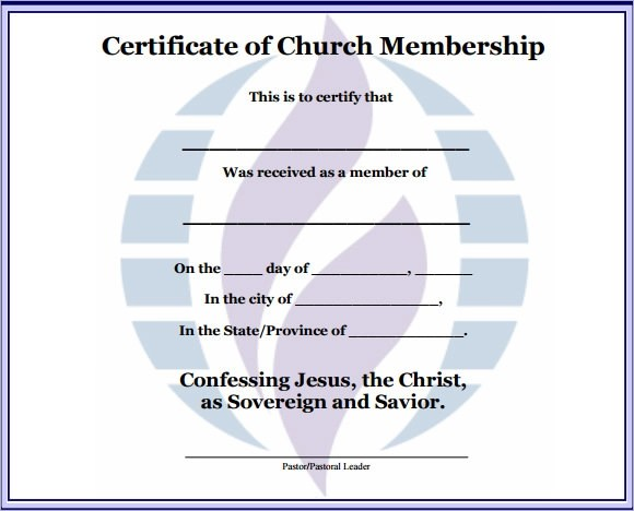 Sample Resume Church
