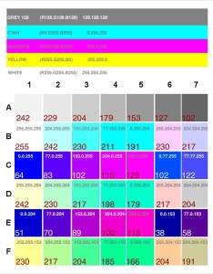 Pantone color chart cmyk also sample documents in word pdf rh sampletemplates